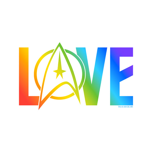 Star Trek: The Original Series Pride Love Premium Tote Bag