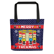 Star Trek: The Original Series Merry Trekmas Premium Tote Bag