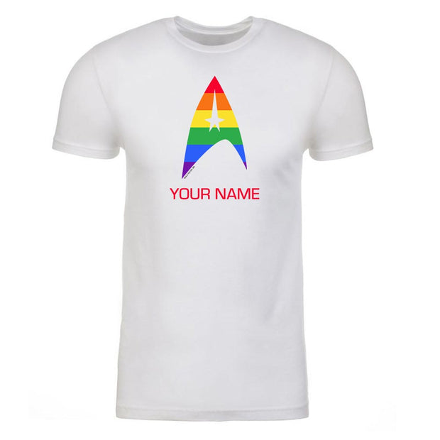 Star Trek: The Original Series Pride Delta Personalized Adult Short Sleeve T-Shirt