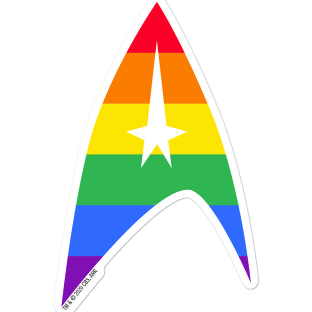 Star Trek: The Original Series Pride Delta Die Cut Sticker