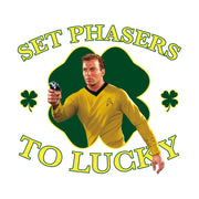 Star Trek: The Original Series Set Phasers to Lucky 20 oz Ceramic Beer Stein