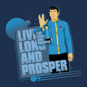 Star Trek: The Original Series Spock Live Long and Prosper Women's Relaxed Scoop Neck T-Shirt