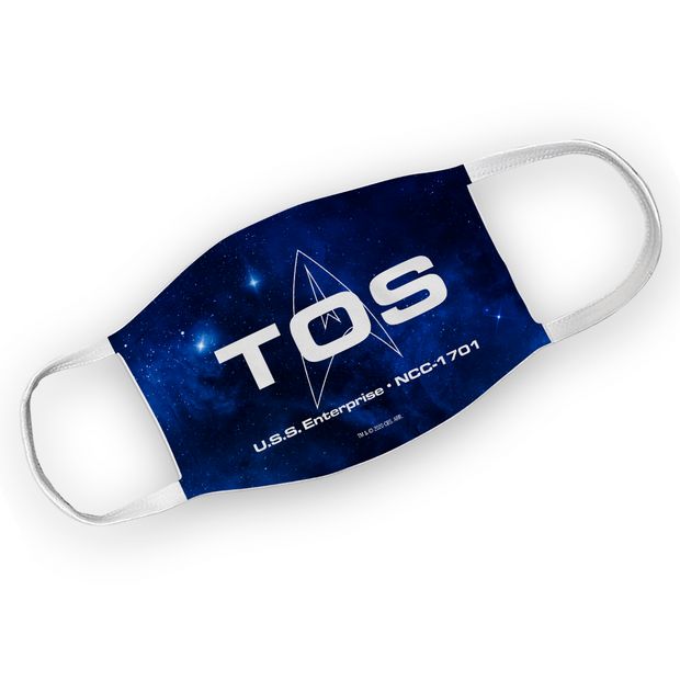 Star Trek: The Original Series TOS Washable Face Mask