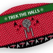 Star Trek: The Original Series Trek The Halls Washable Face Mask