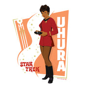 Star Trek: The Original Series Uhura Women's Tri-Blend Dolman T-Shirt
