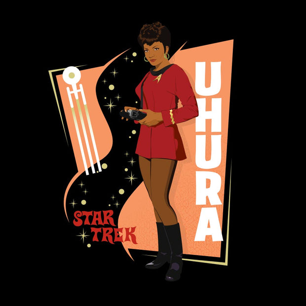 Star Trek: The Original Series Uhura Black Mug
