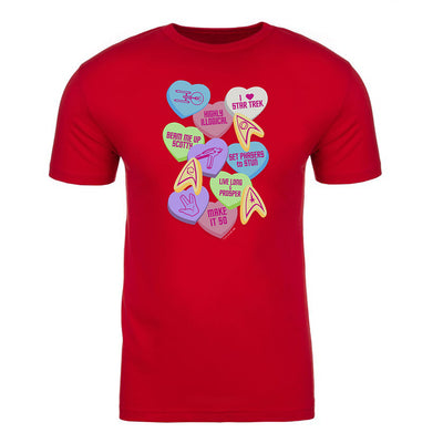 Star Trek: The Original Series Valentine's Day Collage Adult Short Sleeve T-Shirt