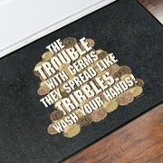 Star Trek: The Original Series Wash Your Hands Tribbles Stack Door Mat