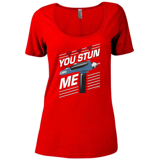 Star Trek: The Original Series You Stun Me Women's Relaxed Scoop Neck T-Shirt