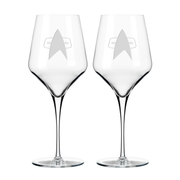 Star Trek: Voyager Delta Prism Wine Glass