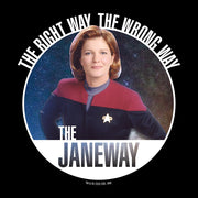 Star Trek: Voyager The Janeways Women's Relaxed Scoop Neck T-Shirt