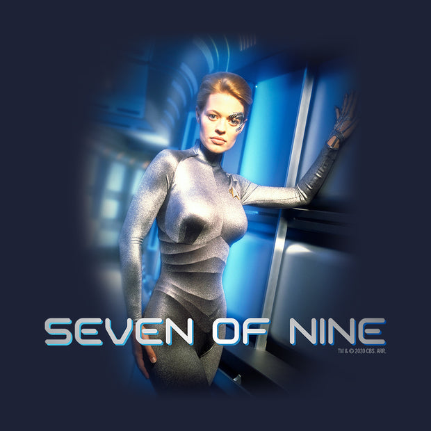 Star Trek: Voyager Seven of Nine Women's Relaxed Scoop Neck T-Shirt