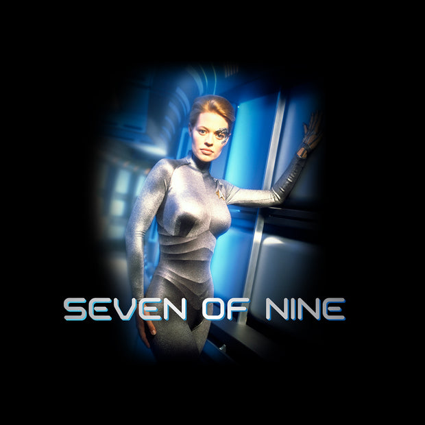 Star Trek: Voyager Seven of Nine Satin Poster