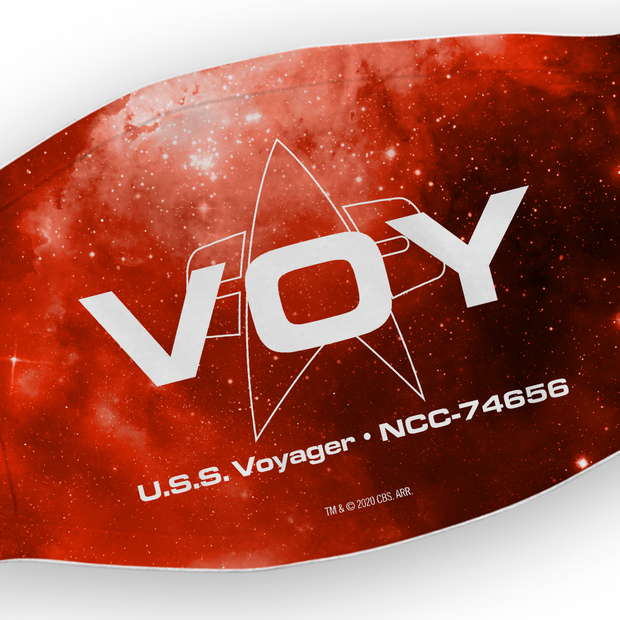 Star Trek: Voyager VOY Washable Face Mask