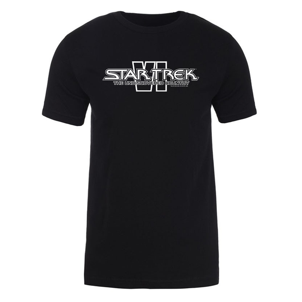 Star Trek VI: The Undiscovered Country Logo Adult Short Sleeve Shirt