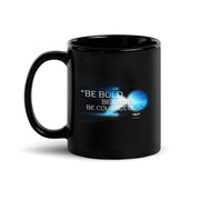 Star Trek: Discovery Be Bold. Be Brave. Be Courageous. Black 11 oz Mug
