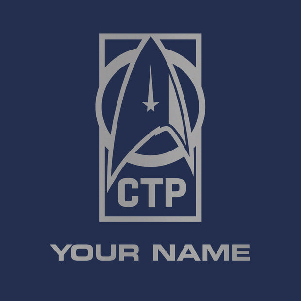Star Trek: Discovery CTP Personalized 17 oz Slim Water Bottle