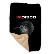 Star Trek: Discovery Heart DISCO Ball Sherpa Blanket