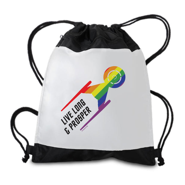 Star Trek: Discovery Pride Drawstring Bag