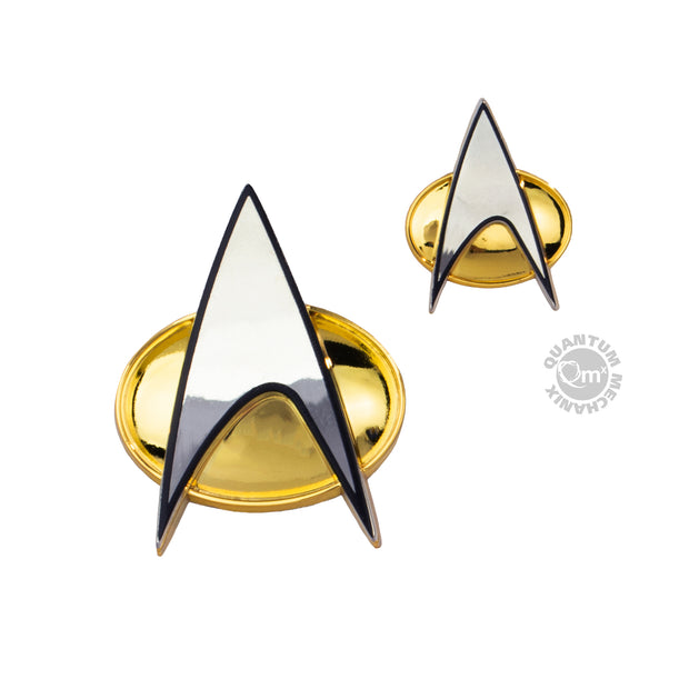 Star Trek: The Next Generation Badge and Pin Set