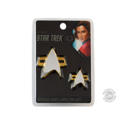 Star Trek: Voyager Badge and Pin Set