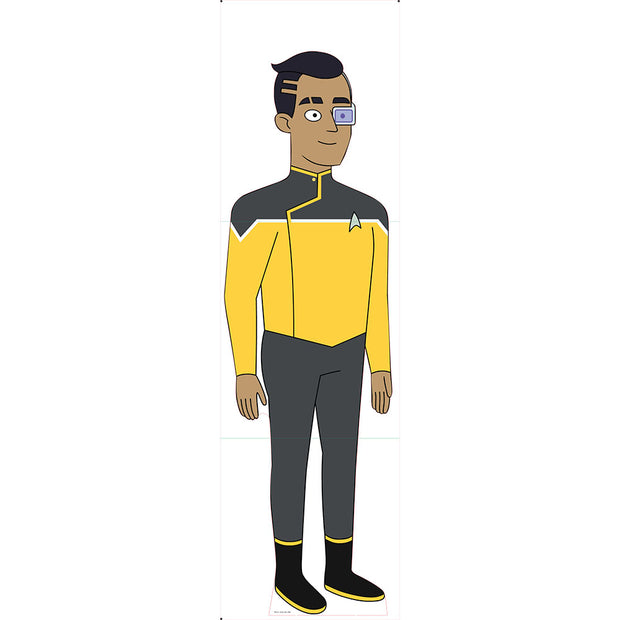 Star Trek: Lower Decks Sam Rutherford Standee