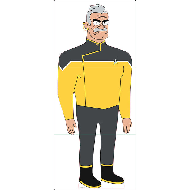 Star Trek: Lower Decks Shaxs Standee