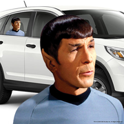 Star Trek: The Original Series Spock Passenger Series Window Decal