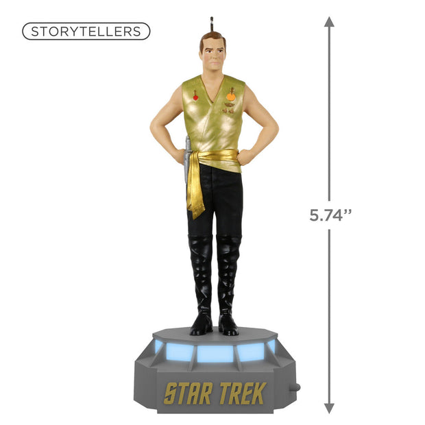 Captain James T. Kirk STAR TREK Mirror, Mirror Collection Storyteller Ornament