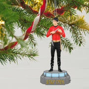 Lieutenant Hikaru Sulu STAR TREK Mirror, Mirror Collection Storyteller Ornament