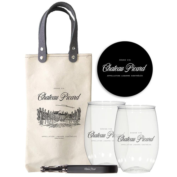 Star Trek: Picard Chateau Picard Travel Wine Bundle