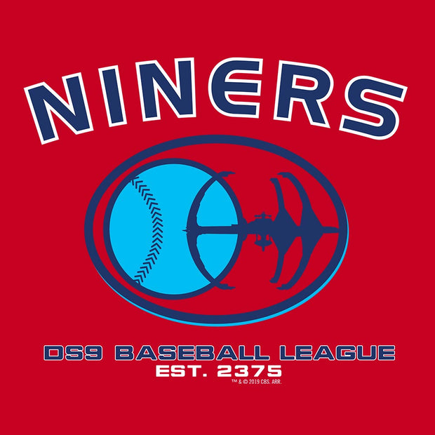 Star Trek: Deep Space Nine Niners Baseball Adult Short Sleeve T-Shirt