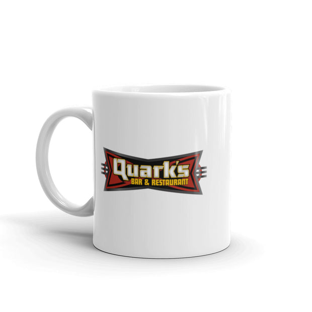 Star Trek: Deep Space Nine Quark's Bar & Restaurant White Mug