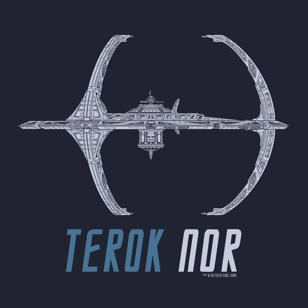 Star Trek: Deep Space Nine Terok Nor Adult Short Sleeve T-Shirt