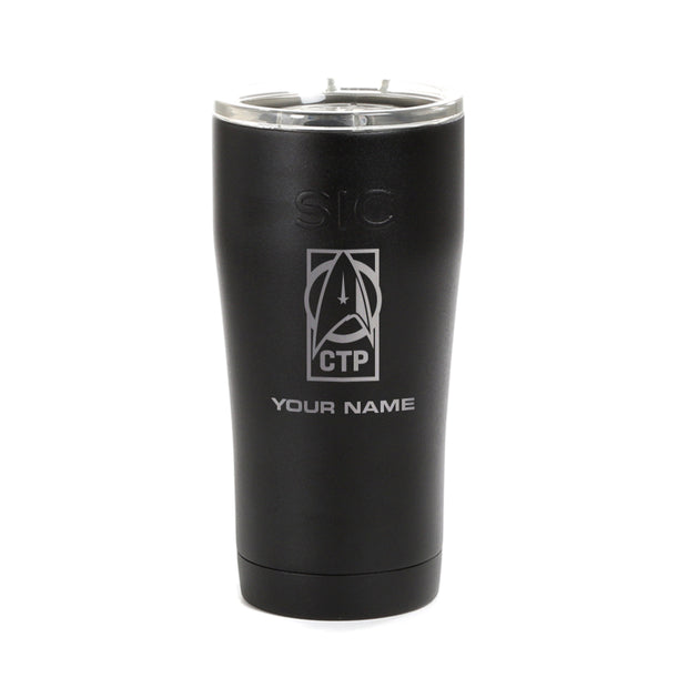 Star Trek: Discovery CTP Personalized Laser Engraved SIC Tumbler