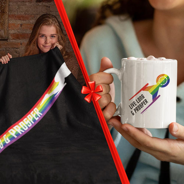Star Trek: Discovery Pride Gift Wrapped Bundle