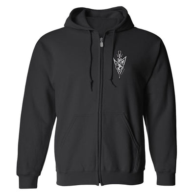 Star Trek: Discovery Mirror Universe Terran Empire Fleece Zip-Up Hooded Sweatshirt