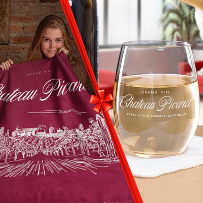 Star Trek: Picard Chateau Picard Gift Wrapped Bundle