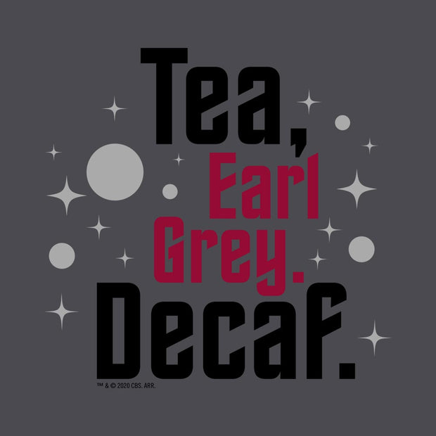 Star Trek: Picard Earl Grey Decaf Women's Relaxed Scoop Neck T-Shirt