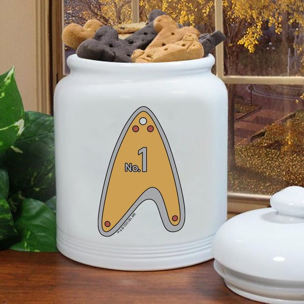 Star Trek: Picard Personalized No.1 Treat Jar