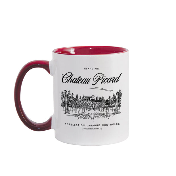 Star Trek: Picard Chateau Picard Vineyard Logo 11oz Two-Tone Mug