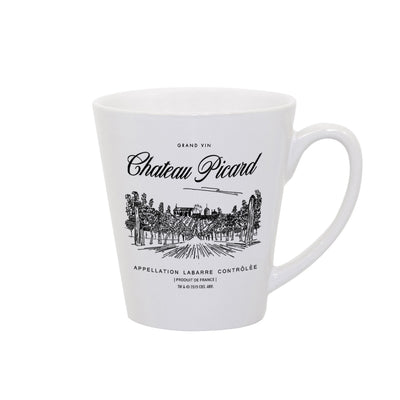 Star Trek: Picard Chateau Picard Vineyard Logo 12 oz Latte Mug