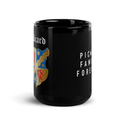 Star Trek: Picard Coat of Arms Picard Family Forever 15 oz Black Mug