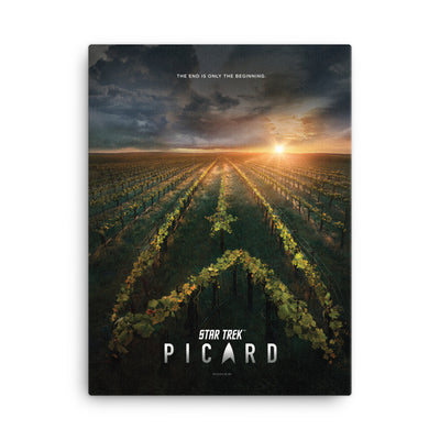 Star Trek: Picard Original Key Art Wrapped Canvas