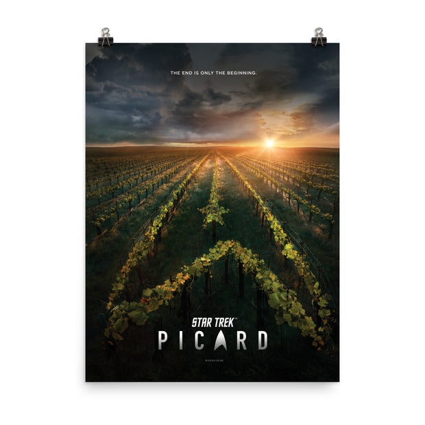 Star Trek: Picard Original Key Art Premium Poster