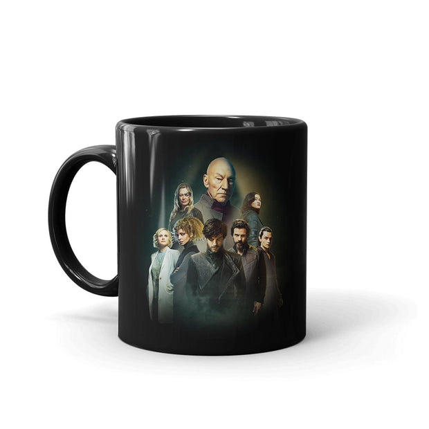 Star Trek: Picard Cast Collage Mug