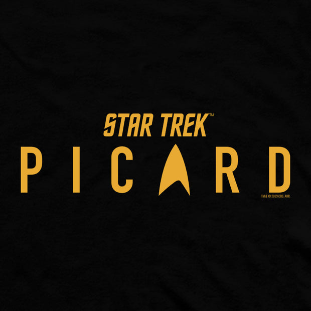 Star Trek: Picard Logo Fleece Hooded Sweatshirt