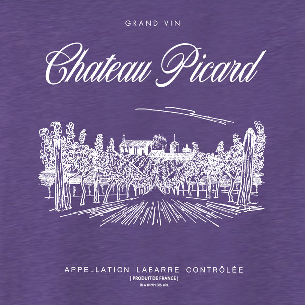 Star Trek: Picard Chateau Picard Vineyard Logo Women's Tri-Blend Dolman T-Shirt