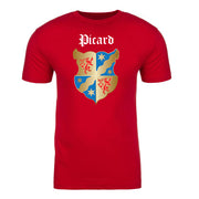 Star Trek: Picard Coat of Arms Picard Family Forever Adult Short Sleeve T-Shirt