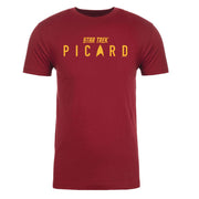 Star Trek: Picard Logo Adult Short Sleeve T-Shirt